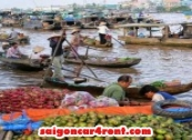 Car Hire Ho Chi Minh to Can Tho Vinh Long Chau Doc  4 days tour