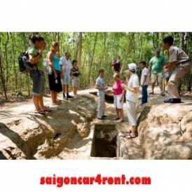 Car Rental Cu Chi Tunnels Half-day